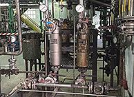 Filtros instalación quimica