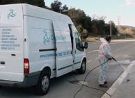 Servicios con vehiculo equipado con hidrolimpieza