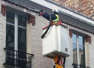 Limpieza fachadas de edificios