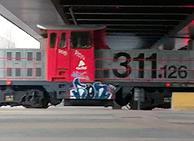Limpieza de trenes y ferrocarriles